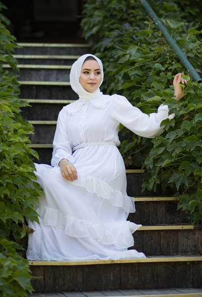 VENEZİA WEAR - Venezia Wear Masal Elbise - Beyaz (1)