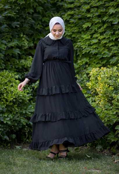 VENEZİA WEAR - Venezia Wear Masal Elbise - Siyah (1)